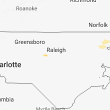 Hail Map for raleigh-nc 2018-05-23
