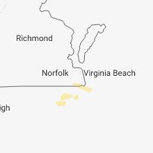 Hail Map for virginia-beach-va 2018-05-23