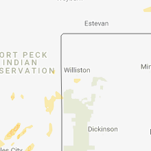 Hail Map for williston-nd 2018-05-23