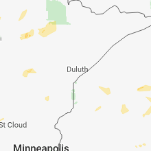 Hail Map for duluth-mn 2018-05-24