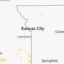Regional Hail Map for Kansas City, MO - Thursday, May 24, 2018