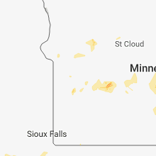 Regional Hail Map for Montevideo, MN - Thursday, May 24, 2018