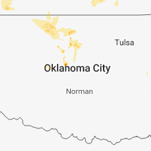 Regional Hail Map for Oklahoma City, OK - Thursday, May 24, 2018