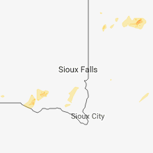 Regional Hail Map for Sioux Falls, SD - Thursday, May 24, 2018