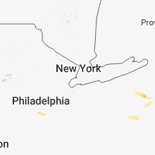 Regional Hail Map for Brooklyn, NY - Saturday, May 26, 2018