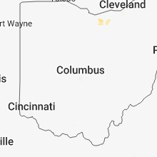 Regional Hail Map for Columbus, OH - Saturday, May 26, 2018