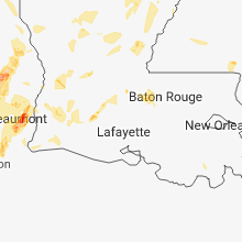 Hail Map for lafayette-la 2018-05-26