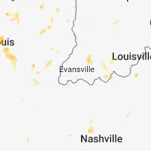 Hail Map for evansville-in 2018-05-27