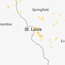 Hail Map for saint-louis-mo 2018-05-27