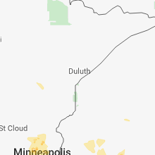 Hail Map for duluth-mn 2018-05-28