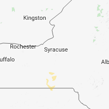 Regional Hail Map for Syracuse, NY - Monday, May 28, 2018