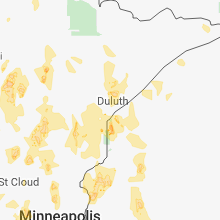 Hail Map for duluth-mn 2018-05-29