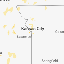 Regional Hail Map for Kansas City, MO - Tuesday, May 29, 2018