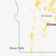 Regional Hail Map for Montevideo, MN - Tuesday, May 29, 2018