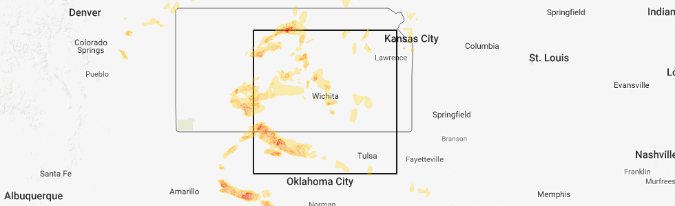 Interactive Hail Maps Hail Map For Hays Ks