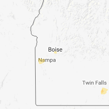 Hail Map for boise-id 2018-05-30