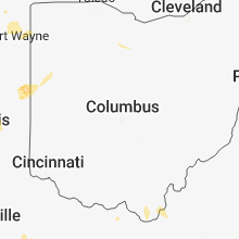 Regional Hail Map for Columbus, OH - Thursday, May 31, 2018