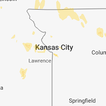 Regional Hail Map for Kansas City, MO - Friday, June 1, 2018