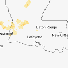 Hail Map for lafayette-la 2018-06-03