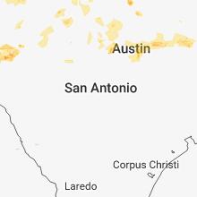 Regional Hail Map for San Antonio, TX - Sunday, June 3, 2018