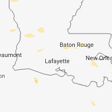 Hail Map for lafayette-la 2018-06-05