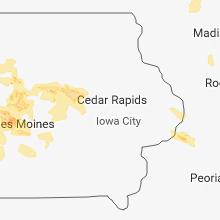 Hail Map for cedar-rapids-ia 2018-06-06