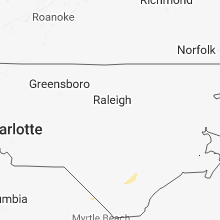 Hail Map for raleigh-nc 2018-06-07