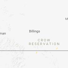 Regional Hail Map for Billings, MT - Friday, June 8, 2018