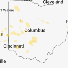 Regional Hail Map for Columbus, OH - Friday, June 8, 2018