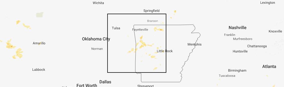 Talihina Oklahoma Map.Interactive Hail Maps Hail Map For Talihina Ok