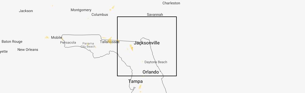 Map Of Lake City Florida.Interactive Hail Maps Hail Map For Lake City Fl