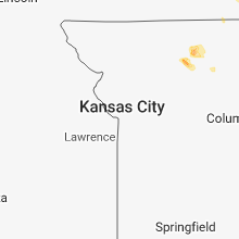 Regional Hail Map for Kansas City, MO - Friday, June 8, 2018