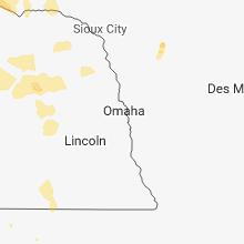 Regional Hail Map for Omaha, NE - Friday, June 8, 2018