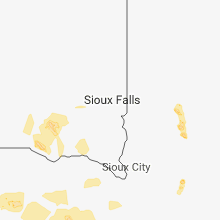 Regional Hail Map for Sioux Falls, SD - Friday, June 8, 2018