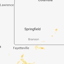 Regional Hail Map for Springfield, MO - Friday, June 8, 2018
