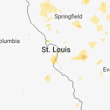 Hail Map for saint-louis-mo 2018-06-09
