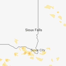 Regional Hail Map for Sioux Falls, SD - Saturday, June 9, 2018