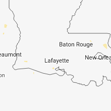 Regional Hail Map for Lafayette, LA - Sunday, June 10, 2018