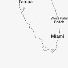 Regional Hail Map for Naples, FL - Sunday, June 10, 2018