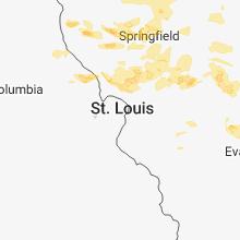 Hail Map for saint-louis-mo 2018-06-10