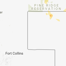 Regional Hail Map for Scottsbluff, NE - Sunday, June 10, 2018
