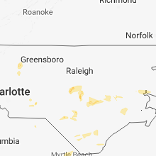 Hail Map for raleigh-nc 2018-06-11