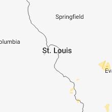 Hail Map for saint-louis-mo 2018-06-12