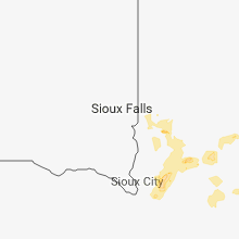 Regional Hail Map for Sioux Falls, SD - Wednesday, June 13, 2018