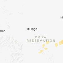 Regional Hail Map for Billings, MT - Friday, June 15, 2018