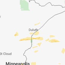 Hail Map for duluth-mn 2018-06-15