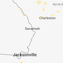 Regional Hail Map for Savannah, GA - Friday, June 15, 2018