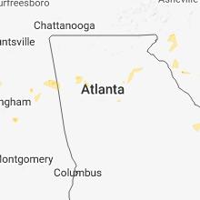 Hail Map for atlanta-ga 2018-06-16