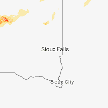 Regional Hail Map for Sioux Falls, SD - Saturday, June 16, 2018