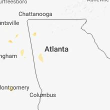 Hail Map for atlanta-ga 2018-06-17